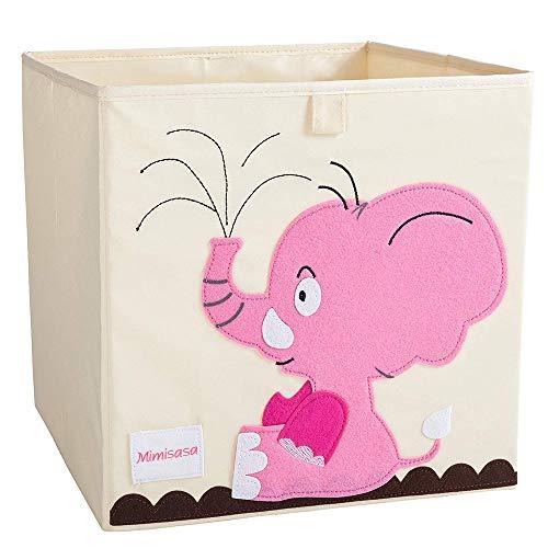 Aufbewahrungsbox Kinder Spielzeugkiste Kinderzimmer Aufbewahrungsbox für baby (Elefant)