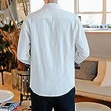 Zoom IMG-1 frauit camicia uomo coreana lino