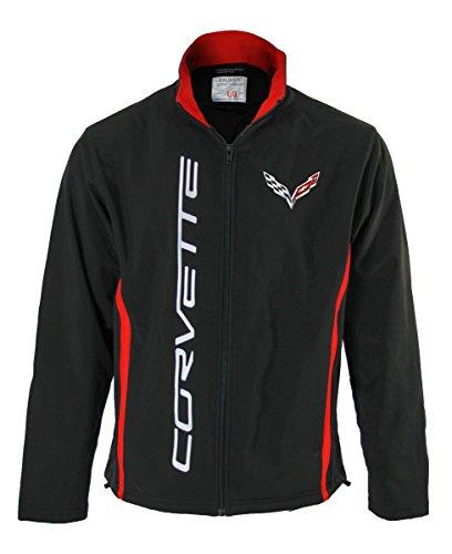 GM Chevrolet Unisex Bonded All-Season Jacket (Corvette, Large)