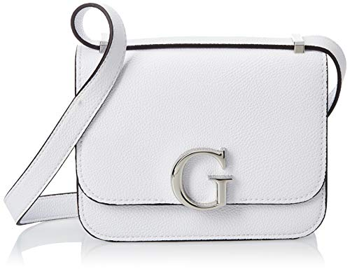 Guess, CORILY CONVERTIBLE XBODY FLAP Donna, WHI, Taglia Unica