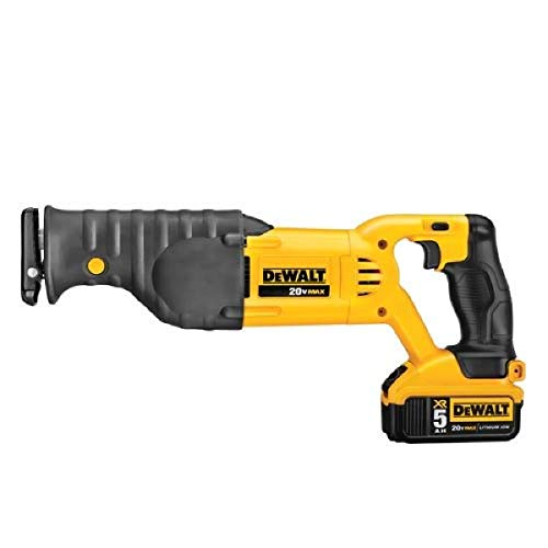 DEWALT 20V MAX Cordless Reciprocating Saw Kit (DCS380P1)
