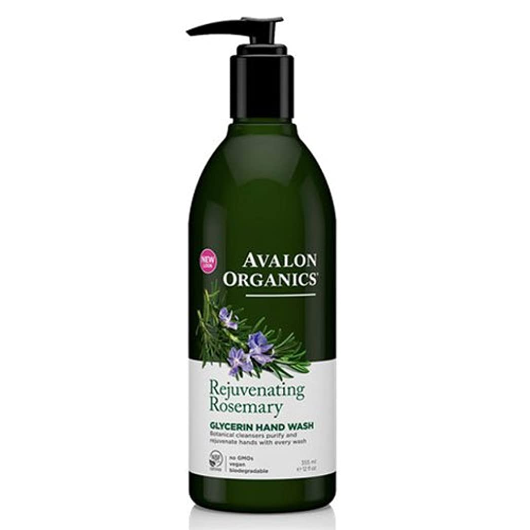コンペゴミ適性海外直送品Avalon Organics Hand Soap Glycerin, Rosemary 12 Oz (Pack of 6)