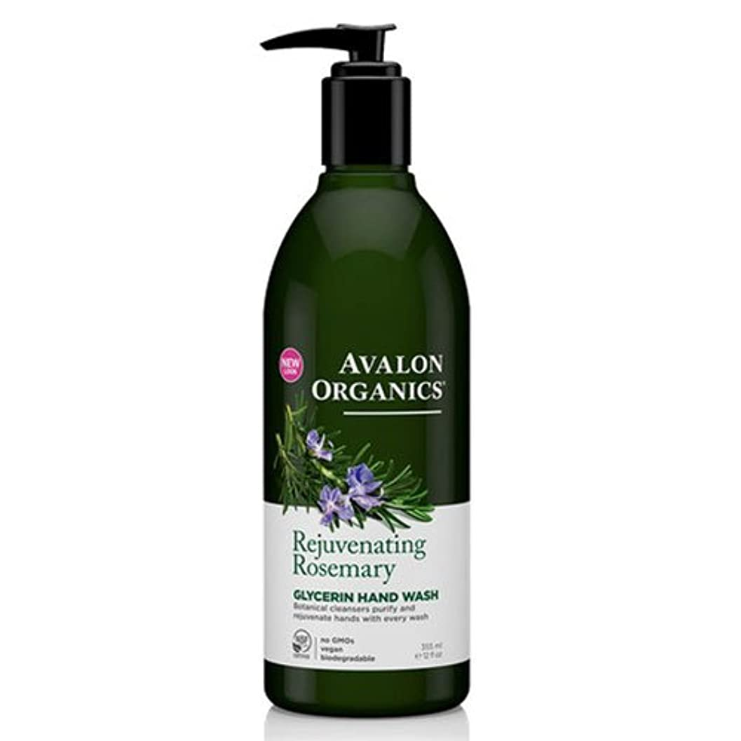 普通の刑務所熟達した海外直送品Avalon Organics Hand Soap Glycerin, Rosemary 12 Oz (Pack of 6)