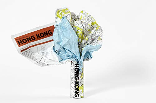Hong Kong Crumpled City Map (Crumpled City Maps)