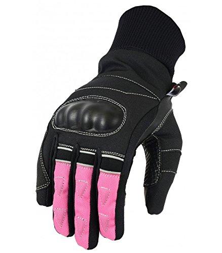 LOVO Guantes de invierno para moto Mujer XS