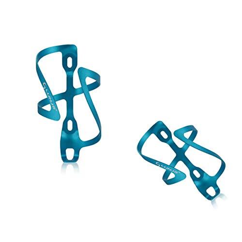 MIAO. NAF,Jaula de Botellas de Bicicleta, Titular de la Taza de Agua de aleación de Aluminio de la Bicicleta de montaña, Accesorios de Ciclismo,Azul
