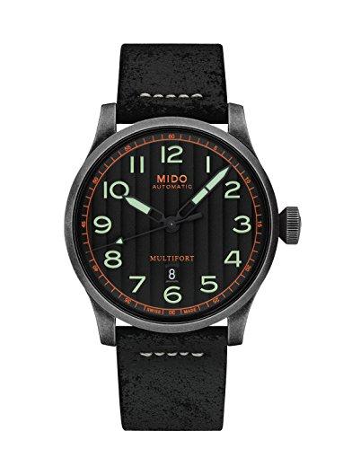 Mido Multifort Escape Herren-Armbanduhr 44mm Automatik M032.607.36.050.09
