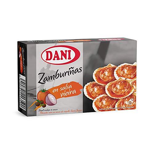 Dani Zamburiñas en salsa vieira - 6 x 106 g