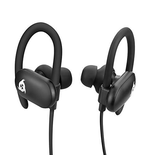 KLIM Fit - Auricolari sport Bluetooth + Ottima qualità del suono + Batteria a lunga durata + 5 anni di garanzia + Ottimi per running, palestra o allenamento + IPX4 anti-sudore + NOVITÀ 2021
