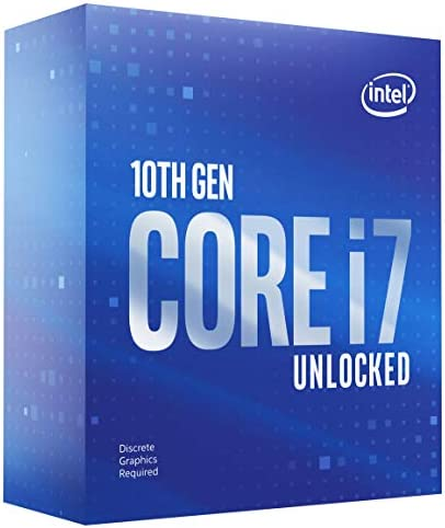 Intel Core i7 10700KF Desktop Processor 8 Cores up to 5 1 GHz Unlocked Without Processor Graphics product image