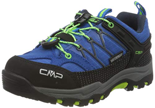 CMP – F.lli Campagnolo Unisex-Kinder Kids Rigel Low Shoe Wp Trekking- & Wanderhalbschuhe, Blau (ROYAL-Frog 94BD), 35 EU