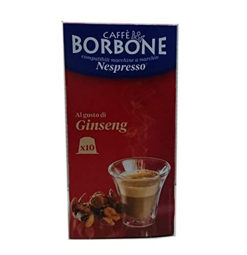 Dolci Aveja 60 Capsule Compatibili Nespresso, Ginseng 6 x 10 - 480 gr