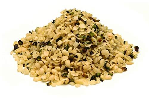 Semillas de cáñamo austriacas peladas BIO 1 kg orgánicas de Austria, alimentos crudos, no tostados 1000g