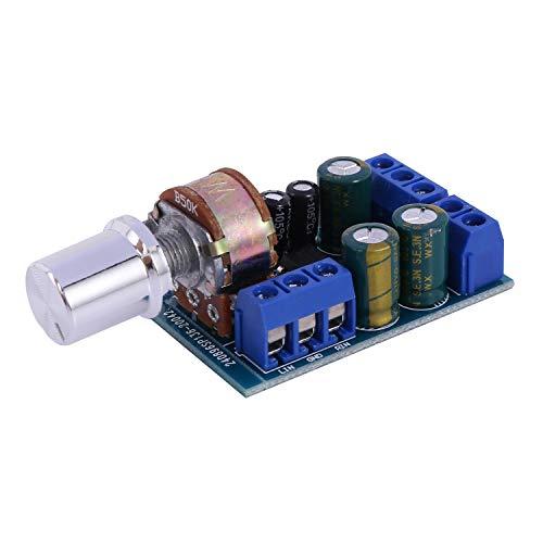 Viudecce TDA2822 TDA2822M 2.0 Canal 2x1w Tablero De Amplificador De Potencia De Audio EstéReo 5V 12V Coche MóDulo De PotencióMetro De Control De Volumen