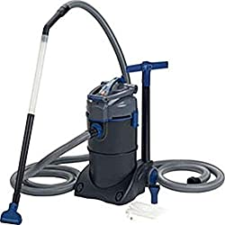 Pond vacuums clean ponds without draining water