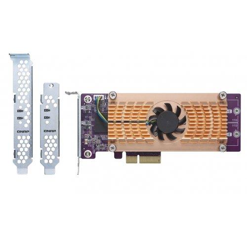 Qnap Dual m.2 22110/2280 SATA SSD Expansion Card for TS-531P/TS-531x/TS-831x/TS-1635/TS-x31XU/TS-X53B/TS-563/TVs-X63/TS-x63U/TS-X70
