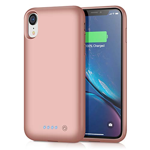 Gixvdcu Battery Case for iPhone XR, Newest [6800mAh