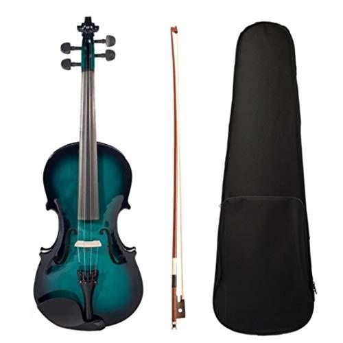 BaoYPP Violín Eléctrico del Mismo tamaño 4/4 acústica Hecha a Mano violín...