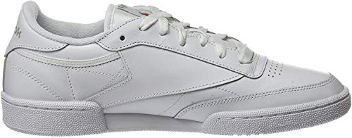 Reebok Club C 85, Deman Niedrig, Elfenbein (White/light Grey), 40.5 EU