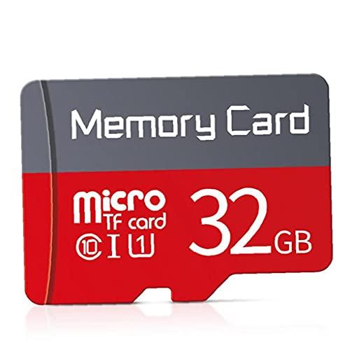 Odoukey Tarjeta Micro SD Tarjeta de Memoria 32G Micro Micro Tarjeta de Memoria con Adaptador Libre