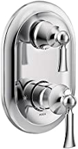 Moen UT5500 Wynford M-CORE 3-Series 2-Handle Shower Trim with Integrated Transfer, Valve Required, Chrome