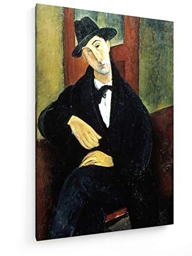 Amedeo Modigliani - Mario Varvogli - 1919-1920 - 50x75 cm - Leinwandbild auf Keilrahmen - Wand-Bild - Kunst, Gemälde, Foto, Bild auf Leinwand - Alte Meister/Museum