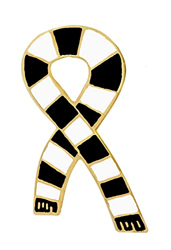 St. Mirren GOLD plated 1960's Retro Style Football Scarf Pin Badge
