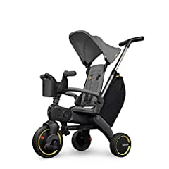 PORTABLE - The smallest folding trike in the market - Folded: 32 x 60 x 23.3 cm. EASY TO USE - Folds and unfolds in seconds. Ideal for travel - easily fits in the trunk of your car or the airplane's overhead bin. NO ASSEMBLY - Comes fully assembled -...