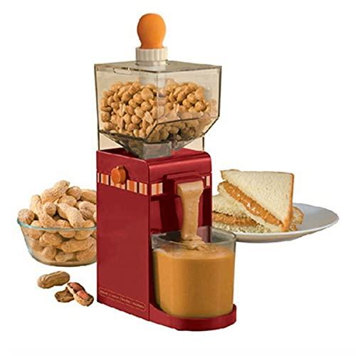 shandianniao Mini Mantequilla de maní Máquina eléctrica del Grano de maní Molinillo doméstico Grinder (Color : B)