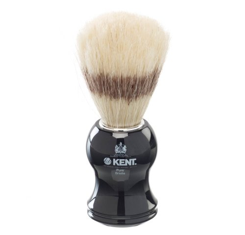 Kent – Blaireau de rasage Brosse Noir Taille S