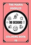 COLORING BOOK: THE MANIA DOODLES