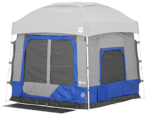 E-Z UP CC10ALRB Outdoor Camping Cube 5.4, Royal Blue