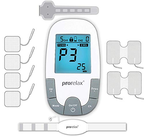 Prorelax TENS-EMS SuperDuo Plus, Dispositivo per...