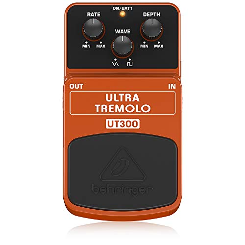 Behringer UT300 Ultra Tremolo Klassisches Tremolo-Effektpedal