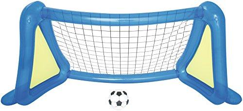 Bestway 52215 – Porte Football Gonflable avec 1 Ballon et spruzzatori latérales