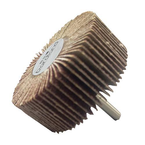 Hengzhe 12x pon/çage de disque de roue /à poncer abrasif grain 60 30X10X3 pour outils rotatifs Dremel