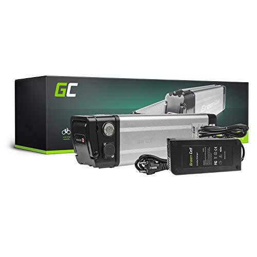 GC® Bateria Bicicleta Electrica 24V 20.3Ah con Celdas Originales Silverfish Li-Ion Batería y Cargador