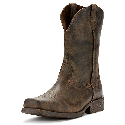 Ariat Men's Rambler Western Boot, Antiqued Grey, 9.5 D...