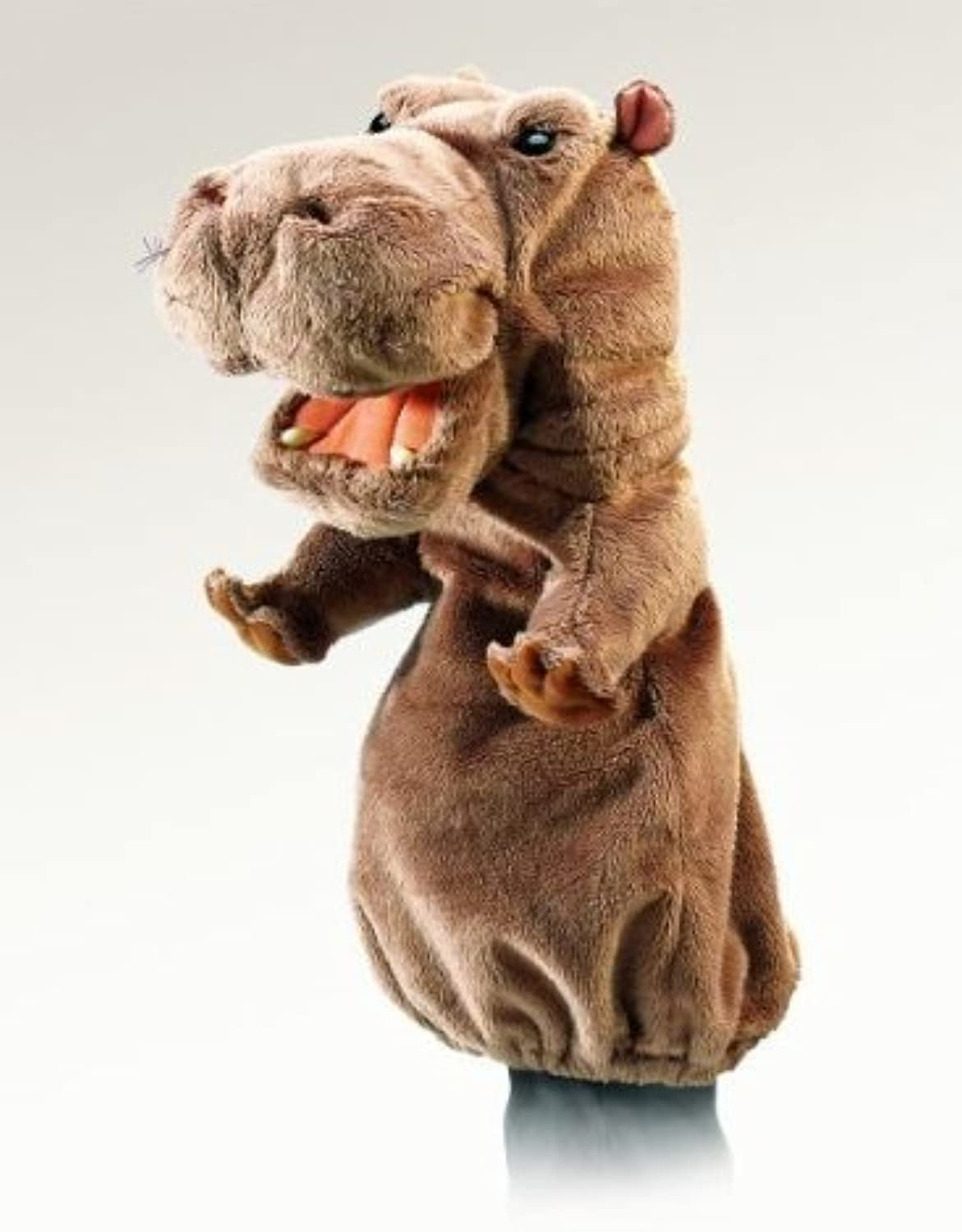 Hippo Stage Puppet by Folkmanis