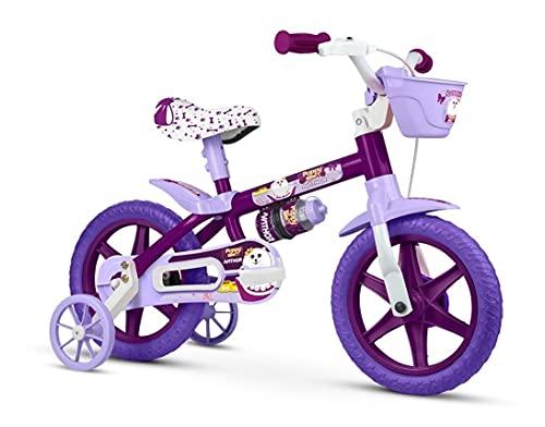 Bicicleta Infantil Aro 12 Puppy, Nathor