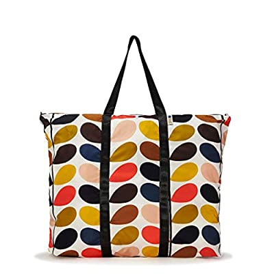Orla Kiely Classic Multi Stem Foldaway Travel Bag