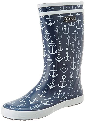 Aigle Unisex-Kinder Lolly Pop Klassische Stiefel, Blau (Dark Navy/Ancres), 34 EU