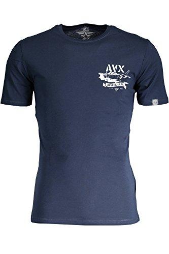 AVIREX AVBWTS01MEBE T-shirt korte halter heren blauw L