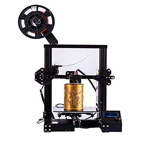 Imprimante 3D A13 avec Surface de Construction magnétique Impression de CV avec Open Source Excellente qualité d'impression et Zone d'impression de 220 220 250 mmd