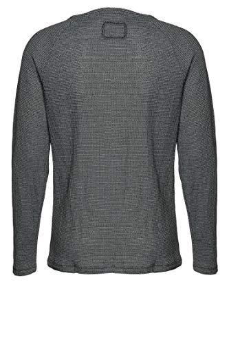 Tigha Herren Sweatshirt Rago Grau M