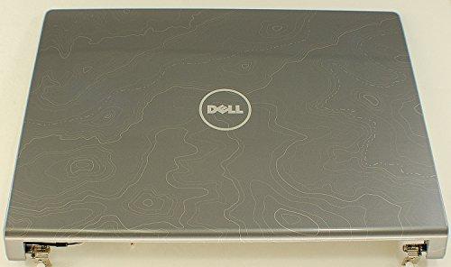 Dell Neue OEM Studio 15153515361537LCD Back Deckel Top Cover Gray K361D Schutzhülle Gehäuse Panel hinten Rückseite Cover Scharniere Monitor Montage Topographische Print