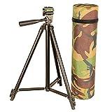 Cult Tackle Trípode ajustable de 43 cm a 123 cm de altura, incluye funda de transporte en camuflaje