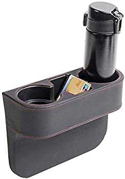 Iokscter Car Cup Holder Expander with PU Leather Cover