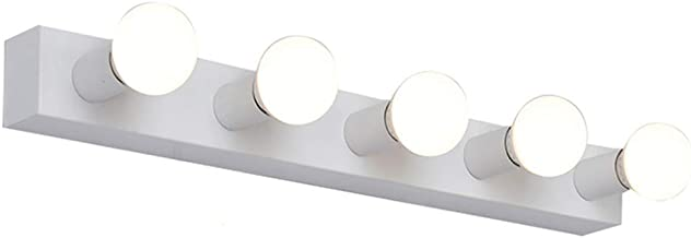 ZXS668 & Vanity Lights & Spiegel Front Light LED E27 Gloeilamp Make-up Lamp Spiegel Licht Wandlamp (Kleur: Wit)