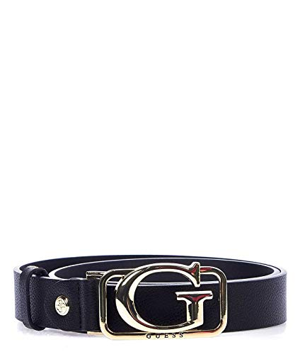 Luxury Fashion | Guess Dames BW7288P0130BLACK Zwart Kunstleer Riemen | Herfst-winter 19
